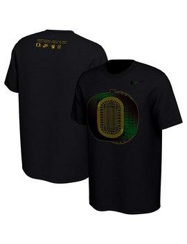 Oregon Ducks Nike 2019 Disruption T Shirt   Black by Nike