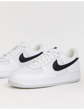Nike Air Force 1 '07 Lv8 Sneakers In White by Nike