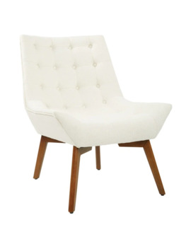 Osp Home Furnishings Shelly Tufted Chair With Coffee Legs by Osp Home Furnishings