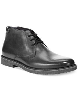 Men's Lancer Leather Chukka Boots, Created For Macy's by General