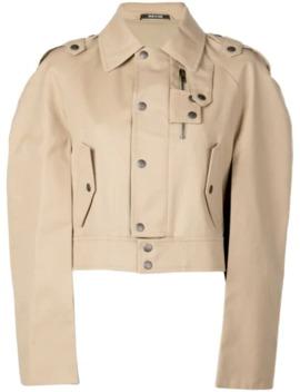 Cropped Trench Jacket by Maison Margiela