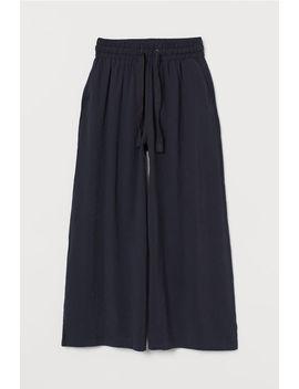 Weite Hose Aus Modalmischung by H&M