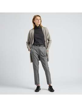 Ezy Ankle Pants (Glencheck) by Uniqlo