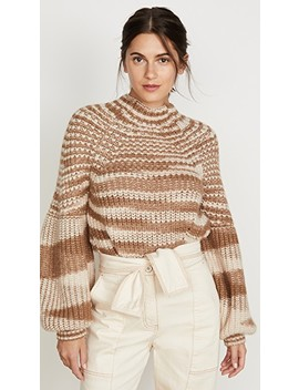 Lucille Alpaca Turtleneck Sweater by Ulla Johnson