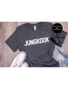 Jungkook Shirt | Jungkook | Kpop Sweatshirt | K Pop Fan Hoodie | Bts Tank Top | Bts Army Kids Tees | Bangtan | Love Yourself | Concert by Etsy