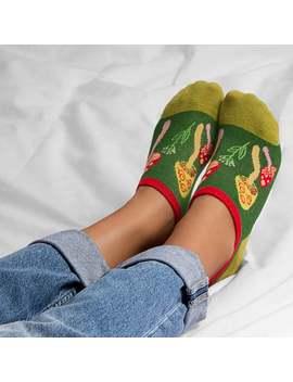 Mushroom Socks | Colorful Socks | Patterned Socks | Crazy Socks | Funny Socks | Vanooki | Womens Socks | Low Socks | Noshow Socks by Etsy