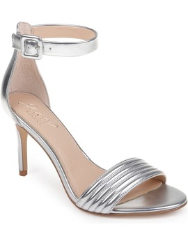Kristina Ankle Strap Sandal by Jewel Badgley Mischka