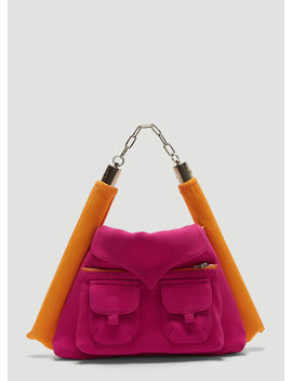Sweet & Sour Nunchuck Bag In Pink by Asai