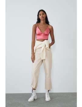 Cropped Top Topswoman by Zara