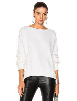 Cashmere Essential Pullover Sweater by Helmut Lang
