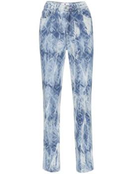High Rise Acid Wash Jeans by Jordache