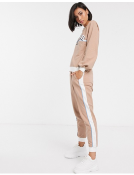 Asos Design Tracksuit La Print Sweatshirt / Jogger by Asos Design