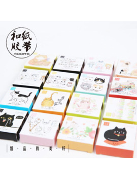 A39 Cute Kawaii Adorable Cat Adhesive Paper Washi Tape Masking Tape Diy Scrapbooking Stick Label by Ali Express.Com
