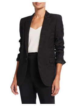 Tonal Tiger Blazer by Saint Laurent
