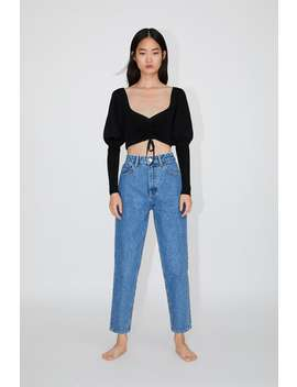 Mom Fit Jeans Mom Fit Jeans Woman by Zara