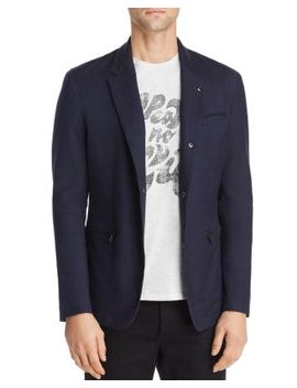 Bryson Regular Fit Snap Front Jacket by John Varvatos Star Usa