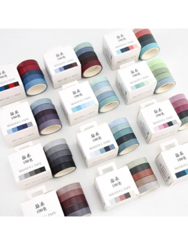 5pcs/Lot Fall Rainbow Masking Washi Tape Set Crafts And Scrapbooking Paper Decor Japanese Stationery Office Supplies by Ali Express.Com