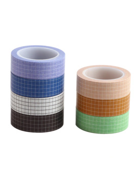 10 M Black White Grid Bullet Journal Washi Tape Planner Adhesive Tape Diy Scrapbooking Sticker Label Japanese Masking Tape by Ali Express.Com