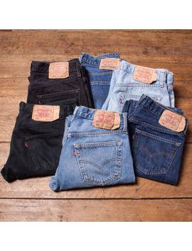Vintage Levi Levis Jeans 501 Grade A Mens Denim Size 29 30 31 32 33 34 36 38 40 by Ebay Seller