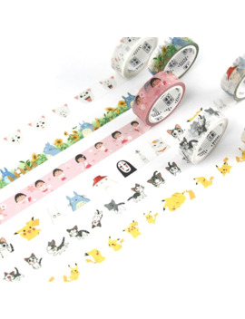 16 Series Fairy Tales Washi Tape Adhesive Tape Diy Scrapbooking Sticker Label Masking Tape, 15mm X 7m & 30mm X 7m by Ali Express.Com