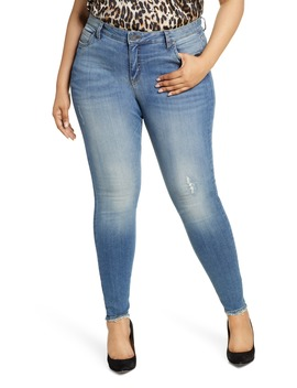 Mia Distressed Toothpick Skinny Jeans by Kut From The Kloth