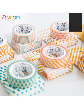 Diy 7 M Cute Kawaii Dot Grid Decorative Adhesive Washi Tape For Home Decoration Scrapbooking Diary by Ali Express.Com