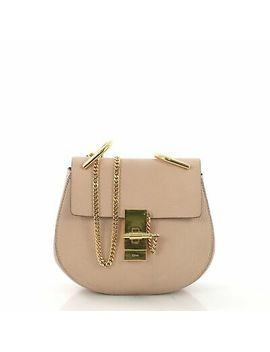 Chloe Drew Crossbody Bag Leather Mini by Chloe