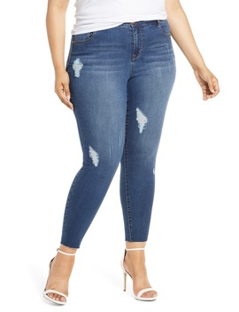 Distressed Jeggings by 1822 Denim