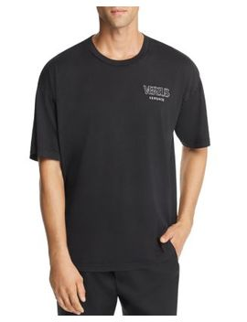garment-dyed-oversized-tee by versus-versace