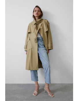 Oversized Trench Coat New Intrf by Zara