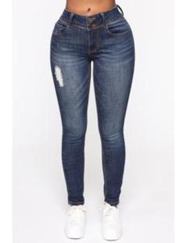 I Can Do It Better Jeans   Dark Denim by Fashion Nova