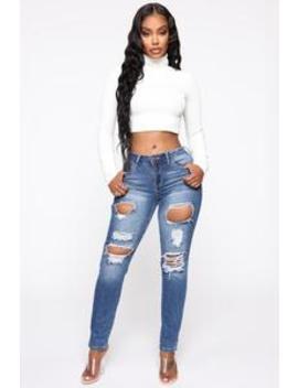 At My Best Skinny Jeans   Medium Blue Wash by Fashion Nova