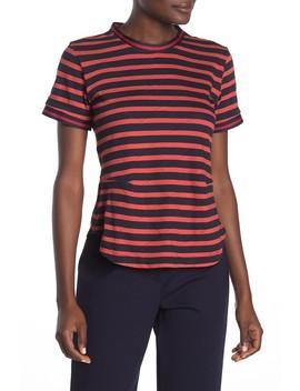Stripe Knit T Shirt by Derek Lam 10 Crosby
