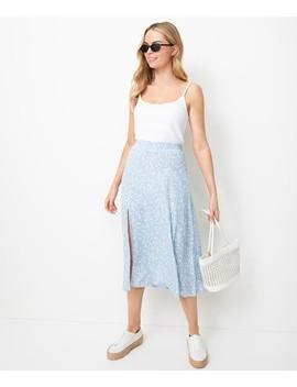 Pretty Split Midi Skirt by Sportsgirl