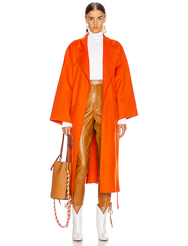Oversized Belted Coat by Loewe