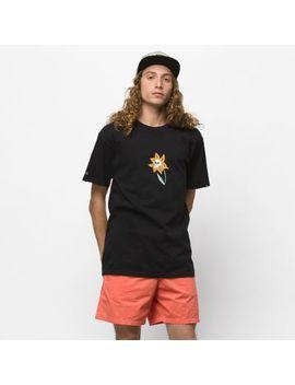 Skull Flower T Shirt by Vans
