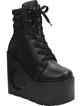 Diana Wedge Boots by Killstar