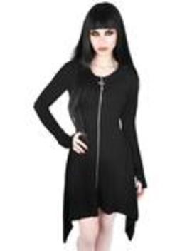 Uriel Zip Dress by Killstar