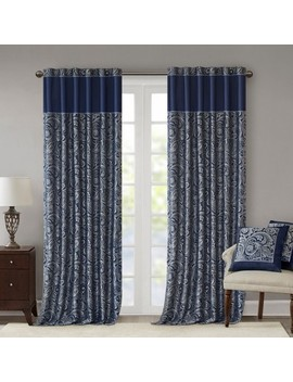 Charlotte Jacquard Window Panel Pair by Shop Collections