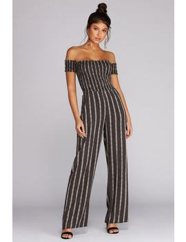 Gracefully Carefree Jumpsuit by Windsor