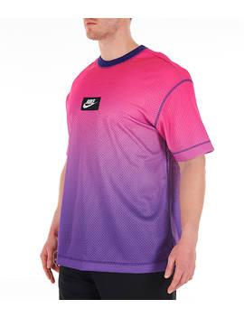 Men's Nike Sportswear Gradient Mesh T Shirt by Nike