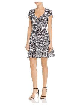 Clip Dot Leopard Print Dress   100% Exclusive by Aqua