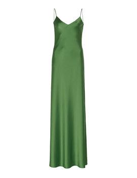 Satin Maxi Dress by Galvan