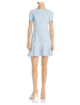 Piped Flounce Hem Dress   100% Exclusive by Aqua