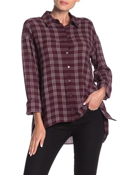 Plaid Elenna Shirt by Cinq A Sept