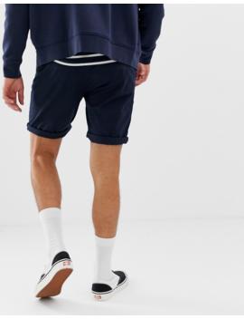 Asos Design 2 Pack Slim Chino Shorts In Black &Amp;Amp; Navy Save by Asos Design