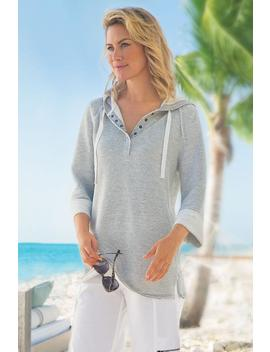 Petites Just Beachy Pullover by Soft Surroundings