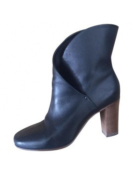Leather Ankle Boots by Céline