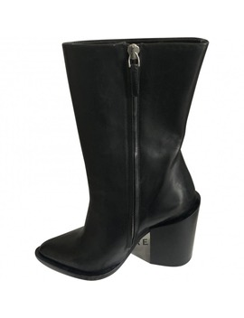 Leather Ankle Boots by Jil Sander