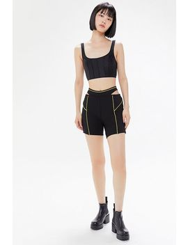 I.Am.Gia Luna Cutout Bike Short by I.Am.Gia